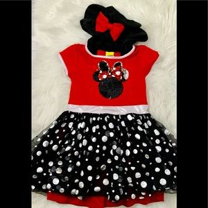 Disney Minnie Mouse Dress with Hoodie
